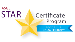 American Society for Gastrointestinal Endoscopy STAR Certificate Program for Barrett's Endotherapy